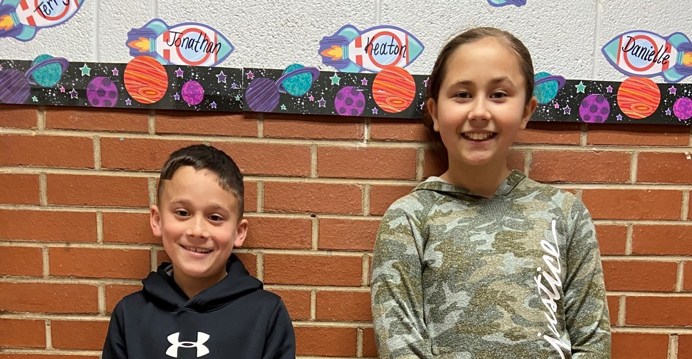 Alexander Elementary Schools' March 2020 Students of the Month