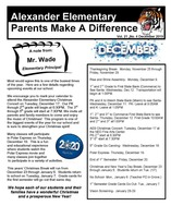 Parents Make A Difference for December 2019