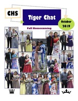 October 2019 Tiger Chat Student Newspaper
