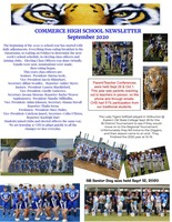 CHS Newsletter (September 2020)