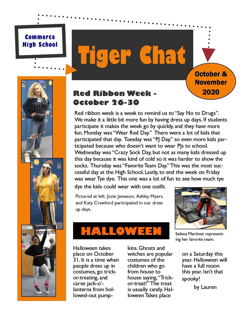 Tiger Chat (October 2020)