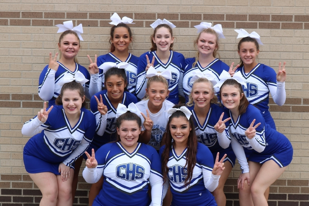 Commerce Tiger State Bound Cheerleaders