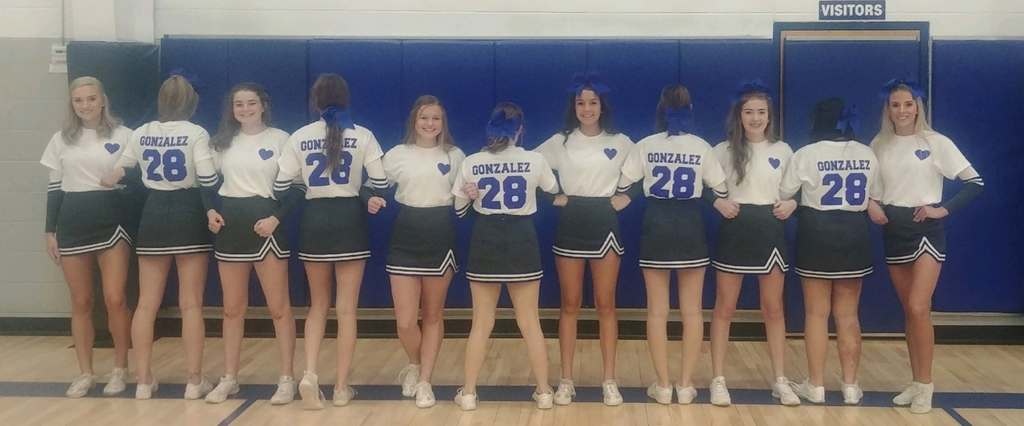 Ketchum Cheerleaders Honoring Francisco Gonzalez