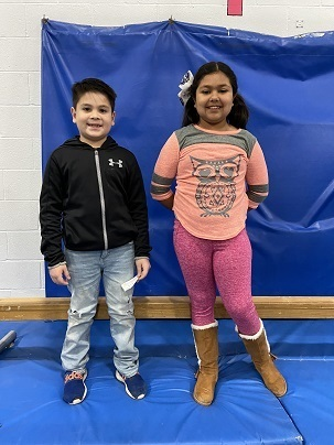 AES February Students of the Month